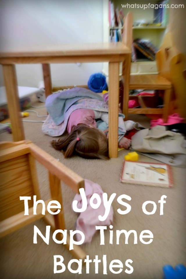 """The """"Joys"""" of Nap Time Battles... Helpful advice on getting your kid to take a nap every day!"""