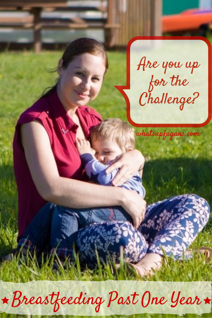 Breastfeeding Past One Year is a challenge. Come learn about one mom's story of extended nursing.