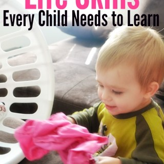 Awesome list of life skills for kids to learn, expecially preschoolers! Love these tips!
