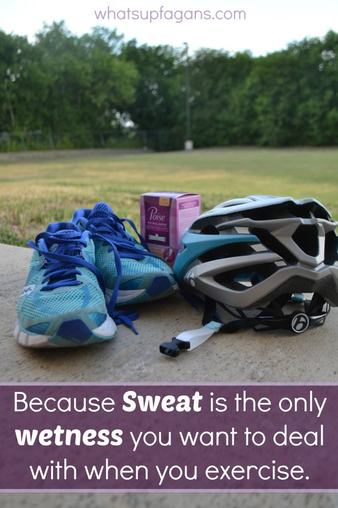Love Poise Microliners! Takes care of my light blatter leakage issues when exercising. Oh! Oh, and you can get a FREE Sample right now! #ad