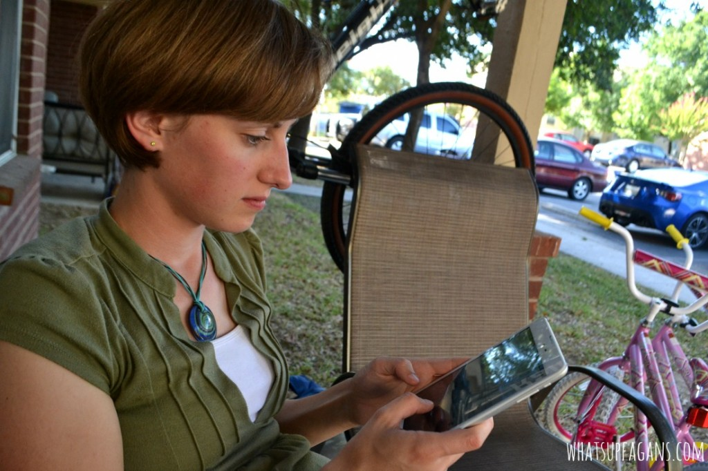 The #TabletTrio helps me balance work-at-home life. It's a FREE Data tablet with no contract! #shop #cbais
