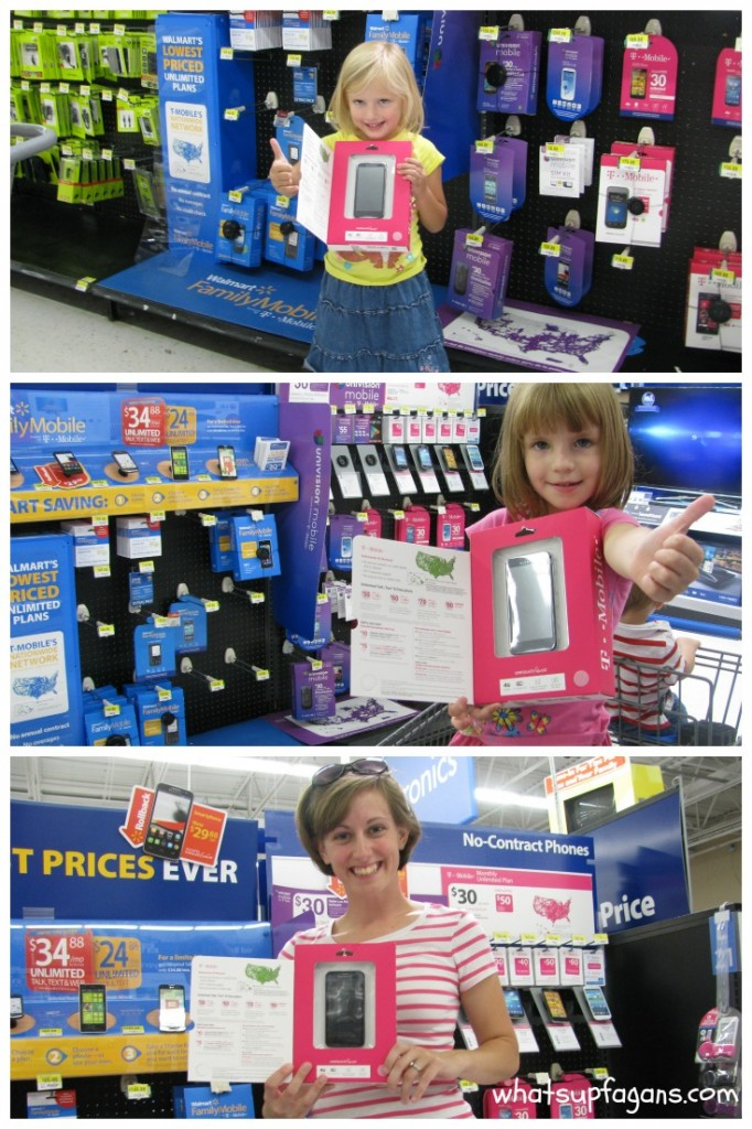 Score the cheapest wireless plans from Walmart Family Mobile! Its' they're the perfect #Phones4School at only $34.88/month for unlimited talk, text, and web! #collectivebias #shop
