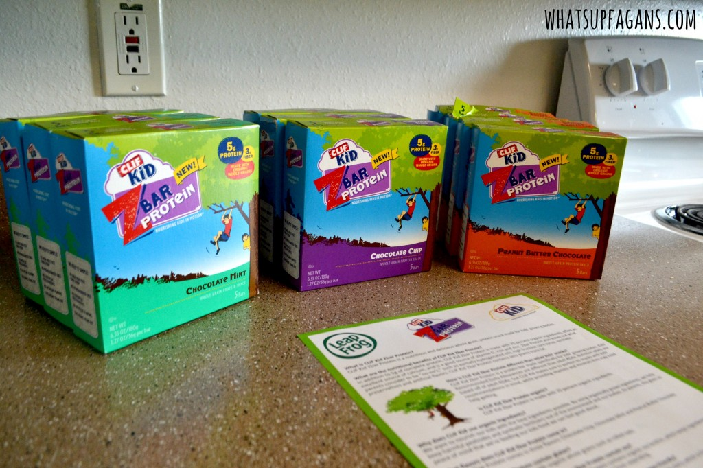 Clif Kid ZBar Protein are a great way for active kids to refuel. #FitMadeFun #sponsored