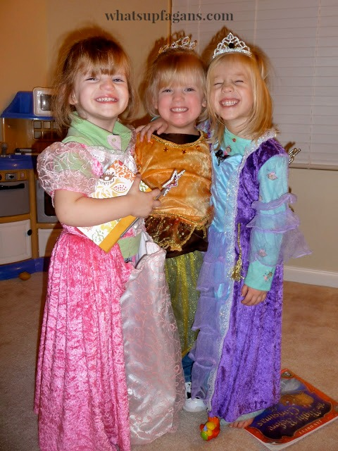 Life is better in costume, especially with friends and playmates! I love encouraging imaginative play in my kids.
