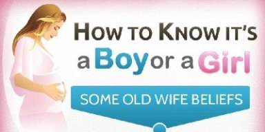 How to know if its a boy or girl infographic rectangle