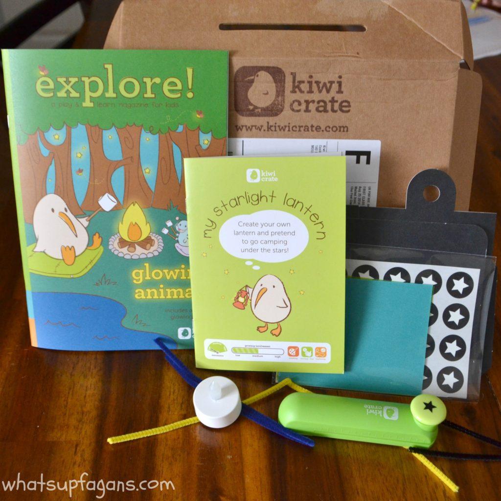 Kiwi Crate Reivew - Box
