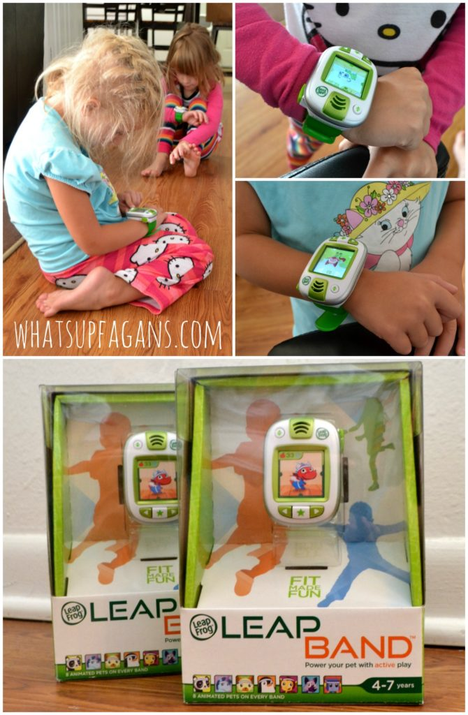 My kids love these new LeapBand activity tracker watches from LeapFrog! #FitMadeFun #ad