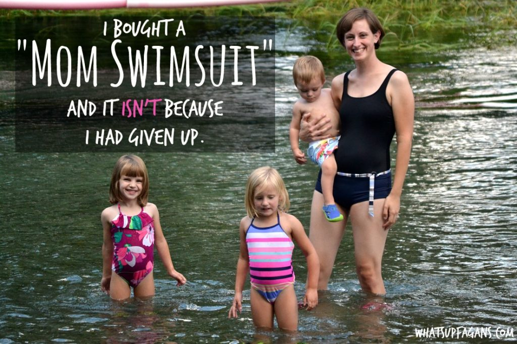 """Yes! I love all her reasons to rock a """"mom swimsuit!"""""""