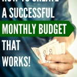 Create A Successful Monthly Budget That Works Free Excel