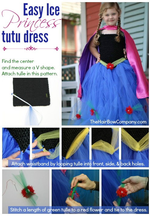 15+ DIY Princess Anna Dress and Cloak Tutorials! So awesome! My daughters wants to be Anna for Halloween thanks to Disney's Frozen movie.
