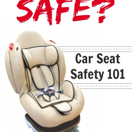 Is your child safe in their car seat? A great post full of awesome resources about car seat safety, as well as some tips on buying seats too!