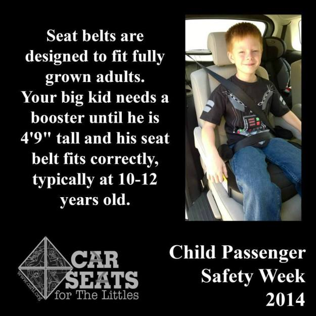 Car Seats - Booster Heights