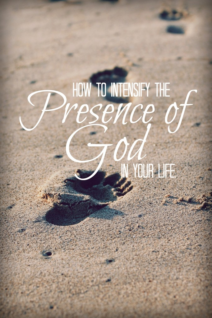 Do you desire to feel the presence of God more fully and richly in your life? Make sure to find out how!