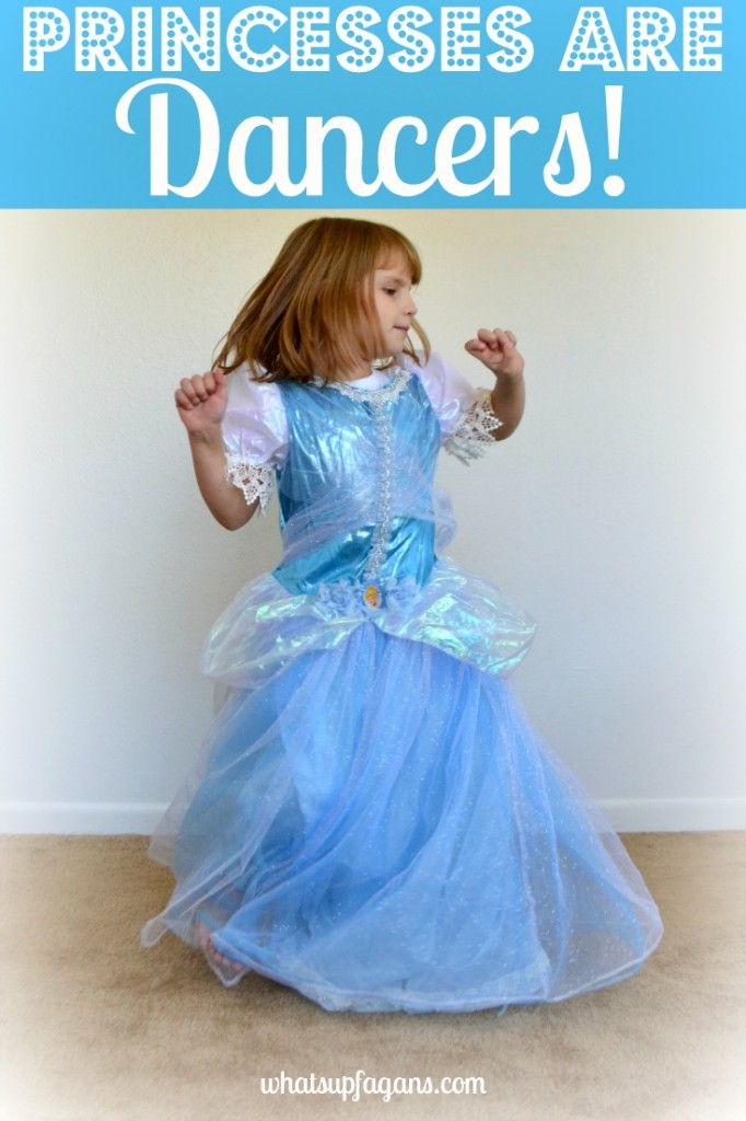 Another Characteristic of Princesses is that they can DANCE! #DisneyBeauties #shop #cbias