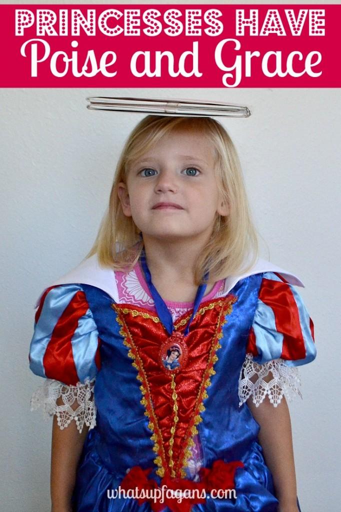 Poise and Grace - Two wonderful qualities of princesses! #DisneyBeauties #shop #cbias