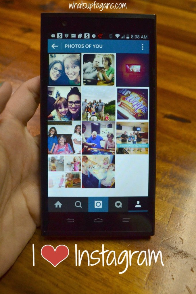 Want to know one of the main reasons I got a smart phone? For an Instagram account!