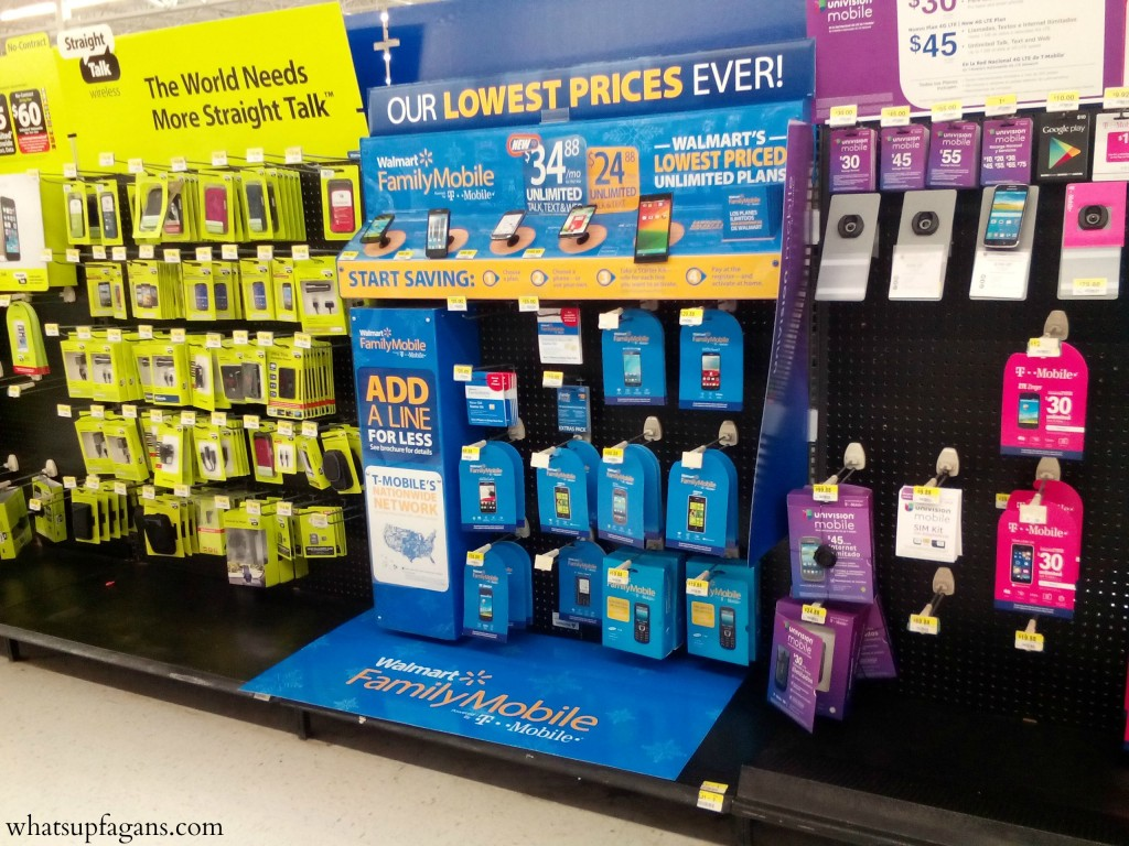 Grab one of the Lowest Priced Unlimited Plans - Unlimited Talk Texst and Data/Web from Walmart Family Mobile. #Thankful4Savings #CollectiveBias #ad