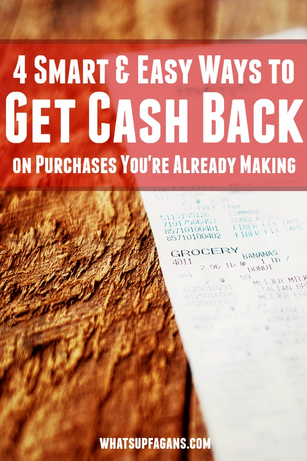 Wow! Who knew it was so easy to get cash back on purchases you are already making! Love the idea of saving it too!