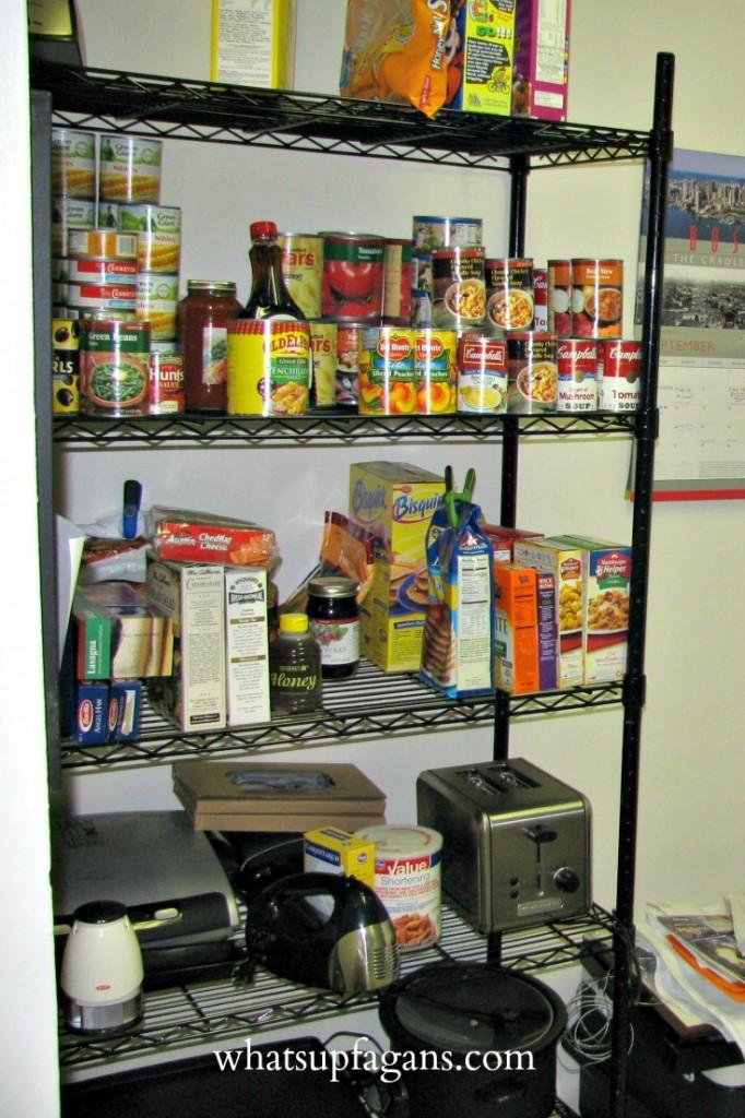 Organization - Kitchen Apartment Storage Solution