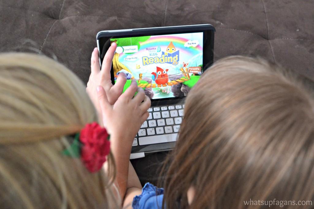 Rosetta Stone Kids Reading Program Review #MC #RSKids #sponsored