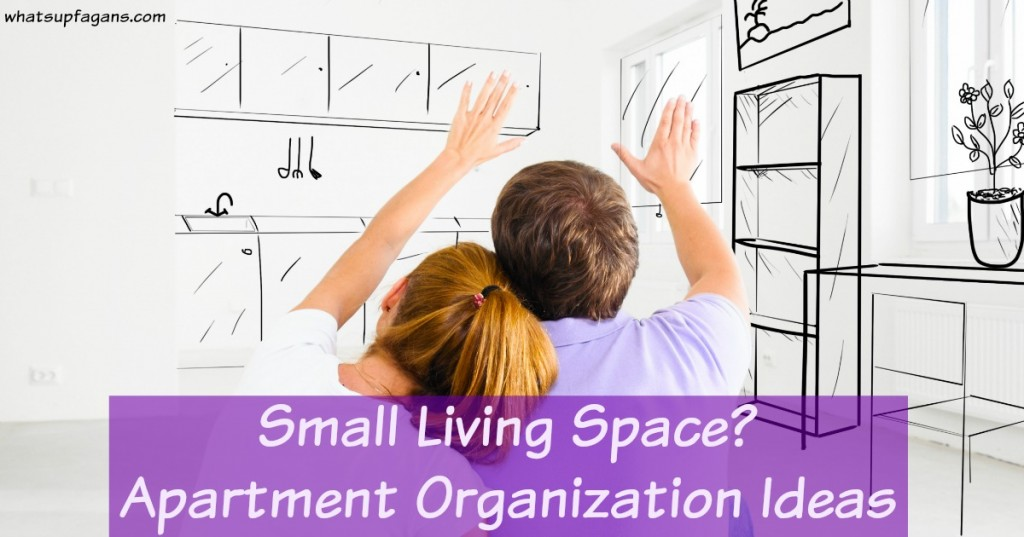 Small Space Living - Apartment Organization Ideas and Storage Ideas so you can live comfortably in a smaller home.