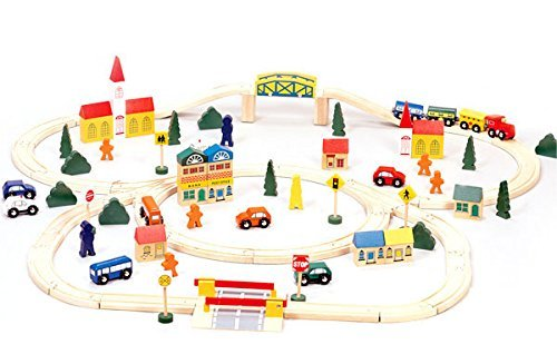 Toys - Wooden Train Set