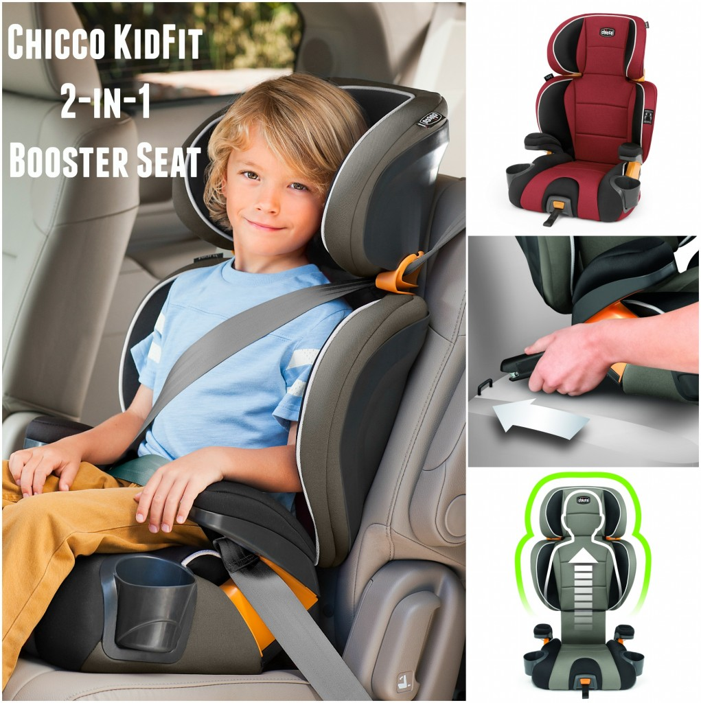 The Chicco Kid Fit 2-in-1 booster seat is a great seat. that can go backless or with the back.