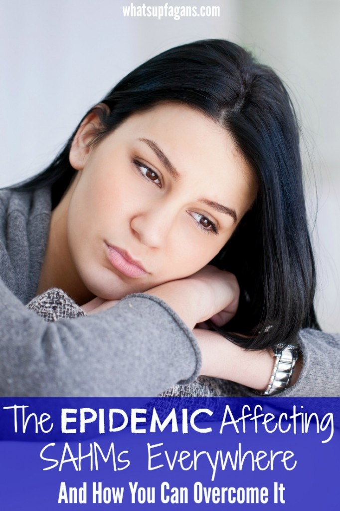 Wow! This is so true. There really is an epidemic affecting Stay at Home Moms (really all women) today. It's so sad. But, I love all the tips and advice in this for overcoming this affliction.