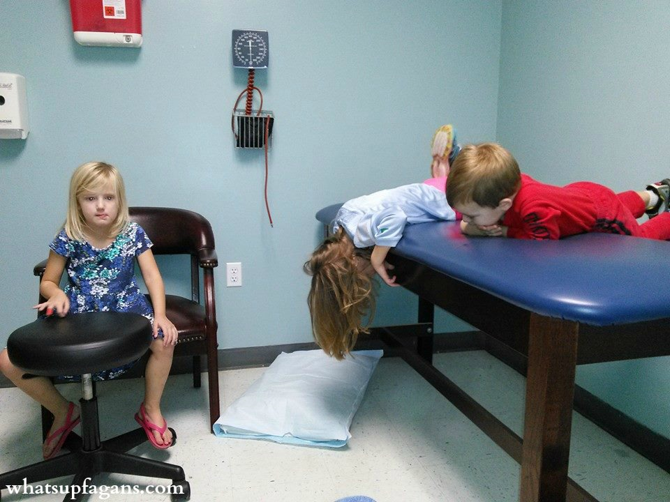Long wait at doctor