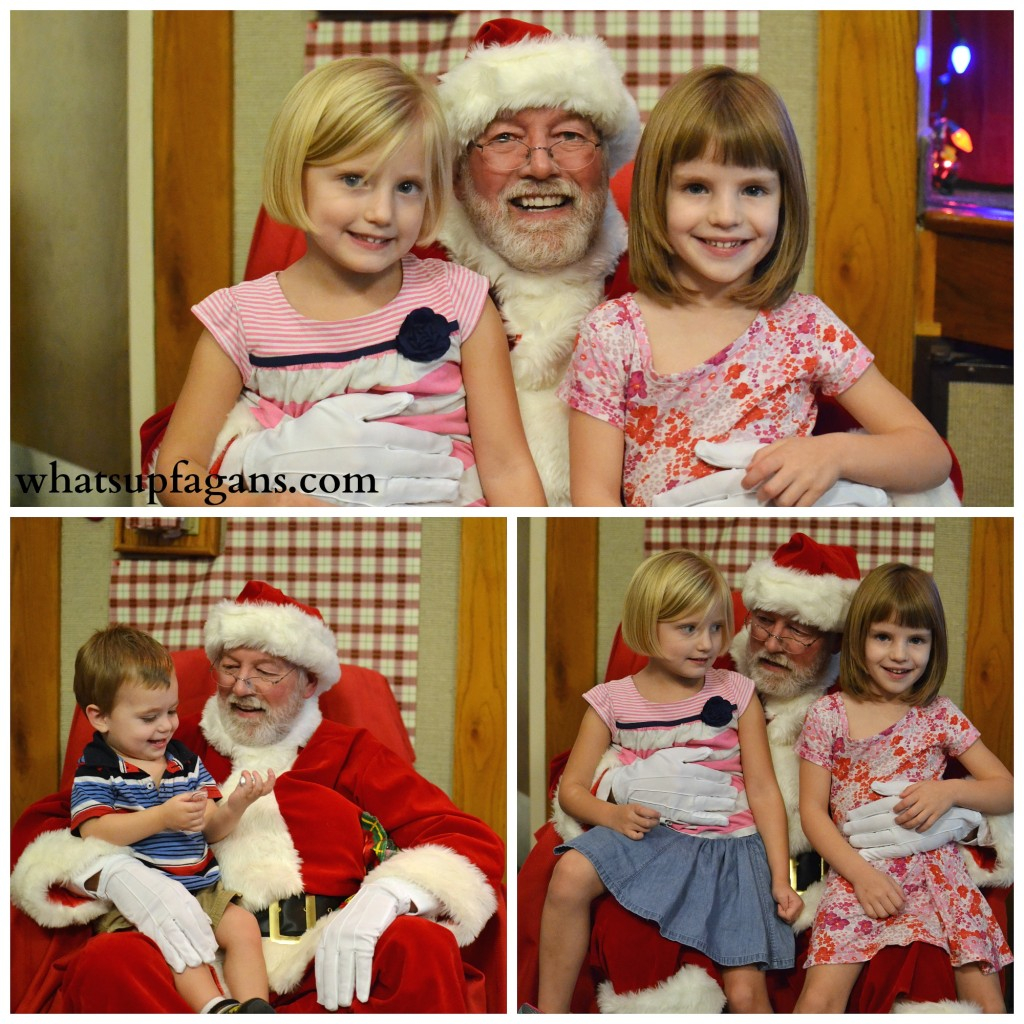 Pics with Santa