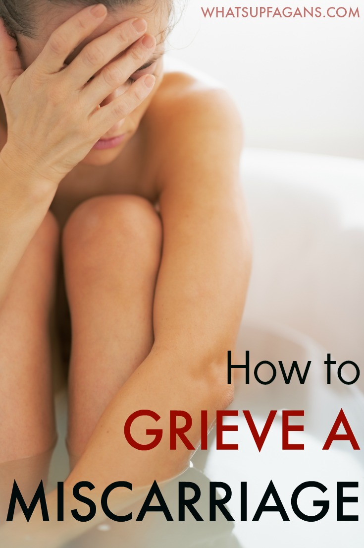 How to grieve a miscarriage