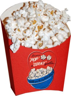popcorn-box for Valetine's Day
