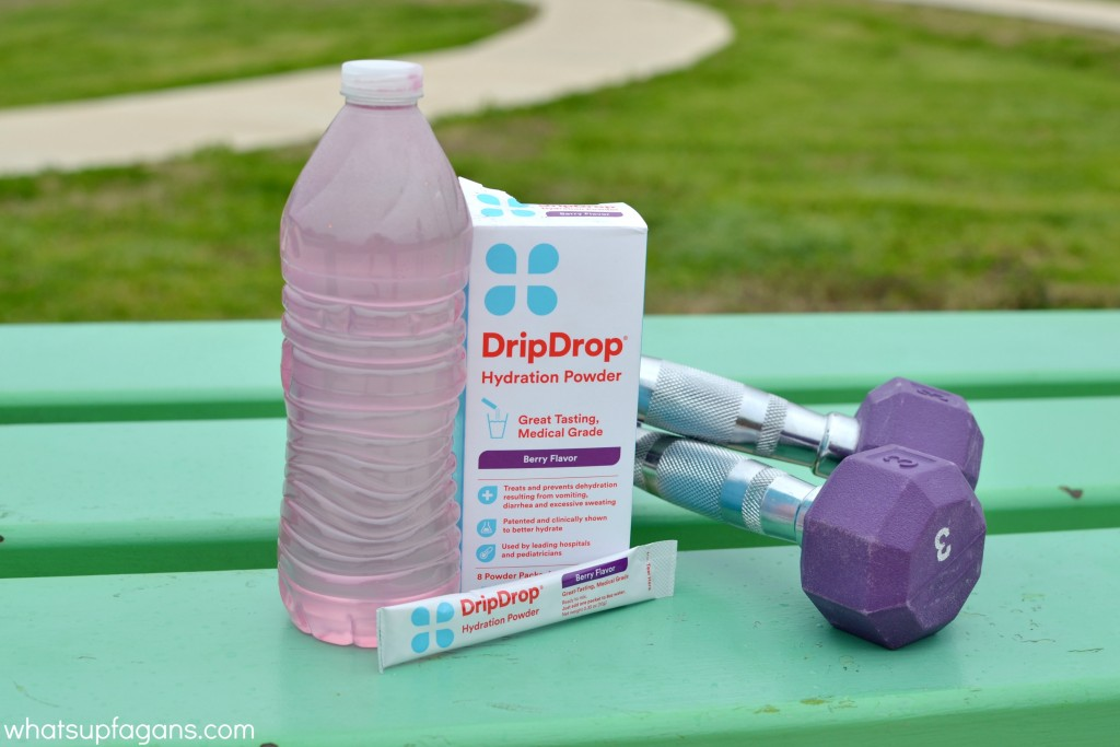 A great product to rehydrate with after you exercise, especially while pregnant. #DrinkDripDrop #DripDripHydrates #pmeida #ad