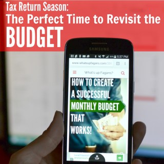When tax return season comes and you are presented with an influx of money (and often a clearing of debt) it's really important to reevaluate your budget, especially the expenses.