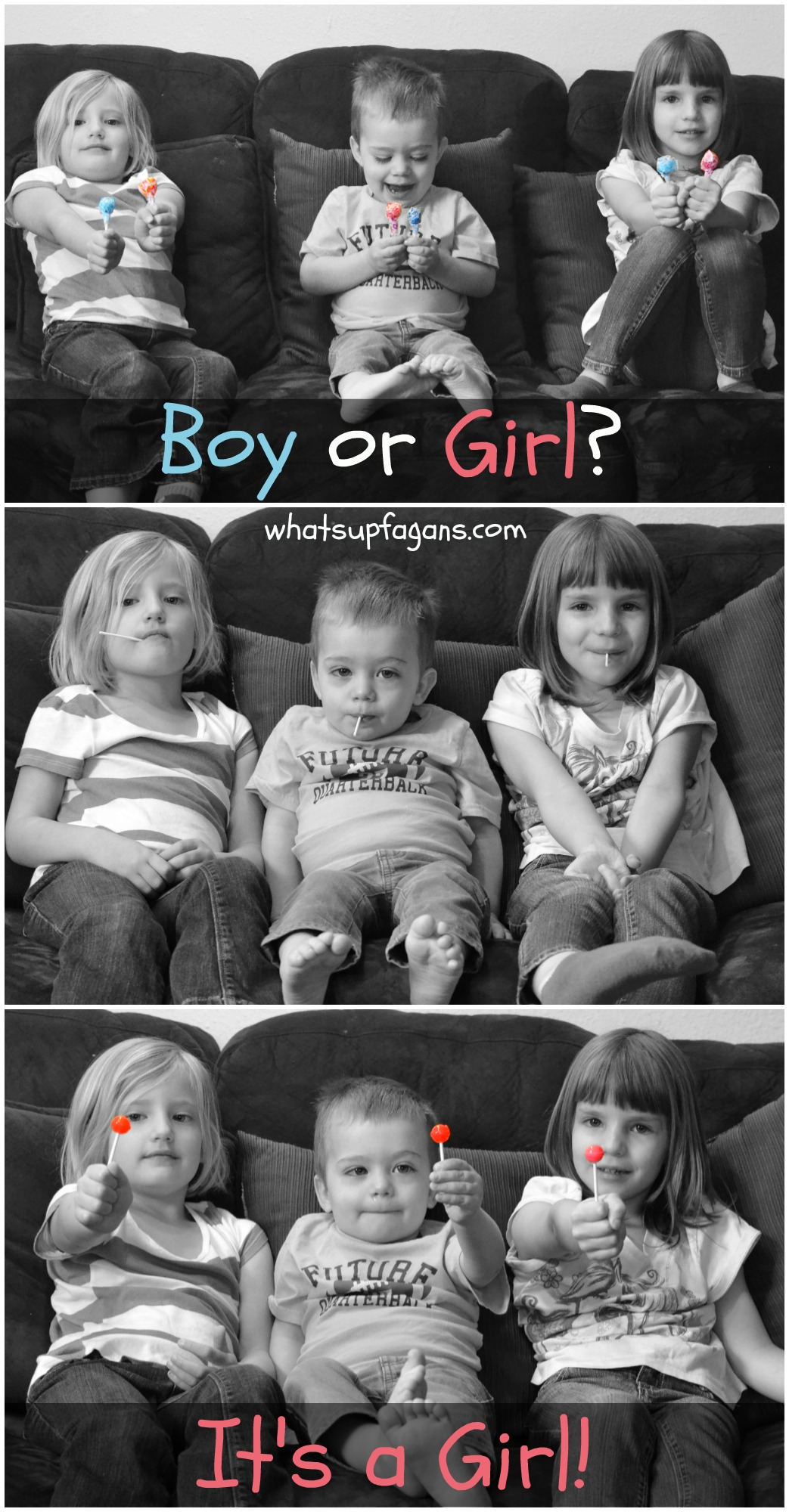 Gender Reveal Ideas with Sibling