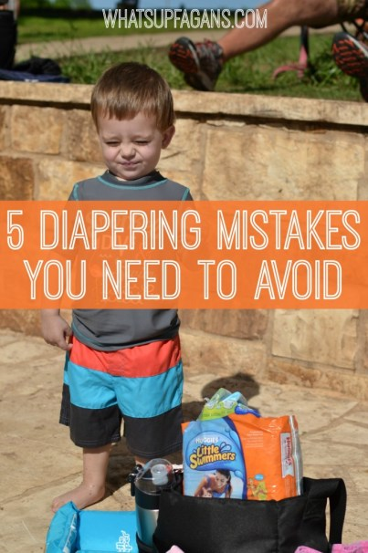 This is so funny! I love these honest parenting stories about diaper blowouts and diapering mistakes! Will try to remember these!