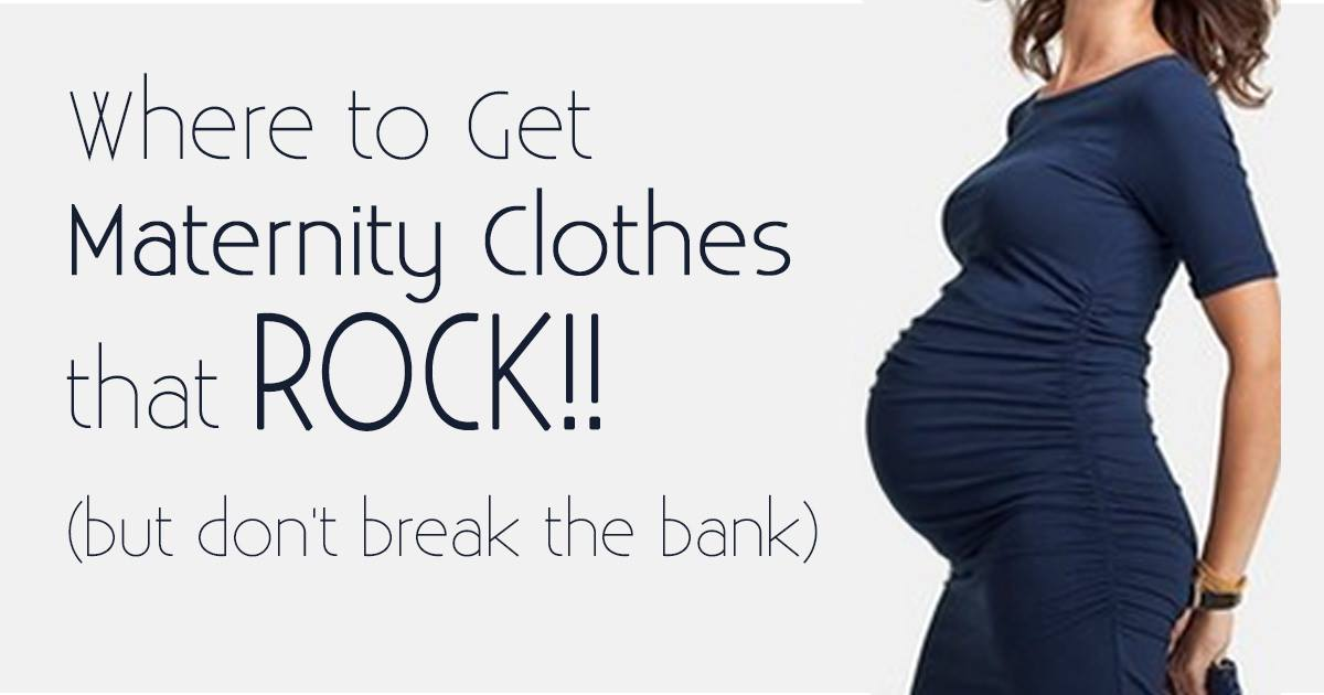 acf2ba1d276 Where to Get Free or Cheap Maternity Clothes that Still Rock