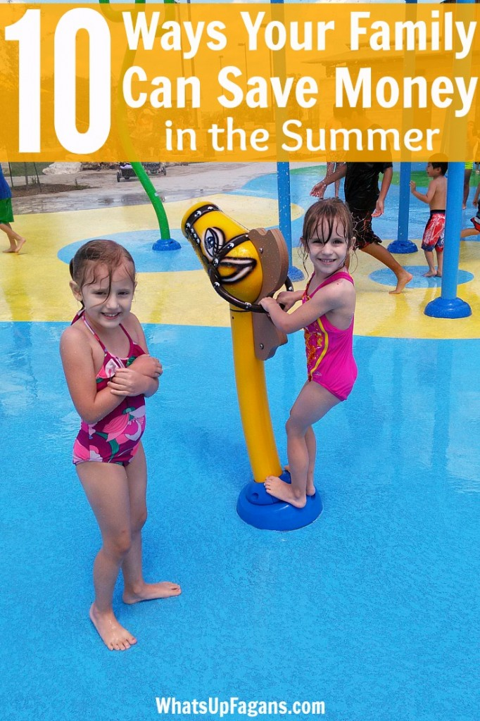 10 great ways to save money in the summer! Summer fun doesn't have to be so expensive. Great ideas on saving in different areas.