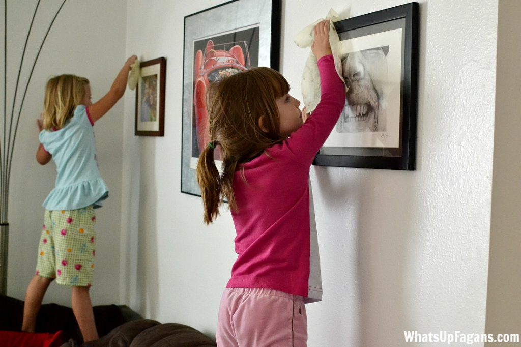9 tips for speeding up the everyday cleaning process for your home. Definitely get the kids involved, especially in the dusting.