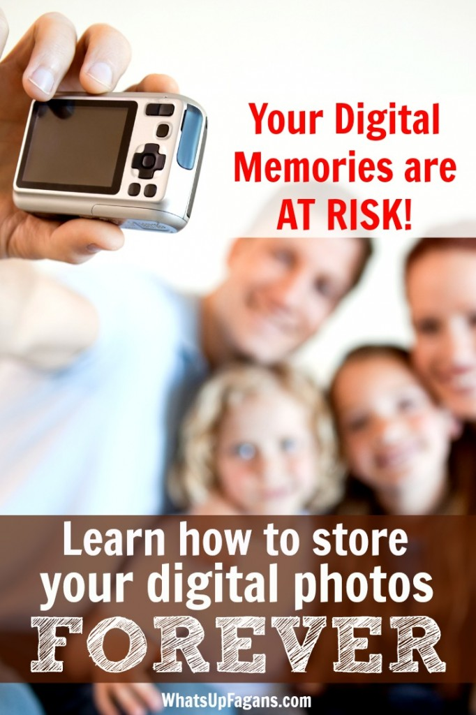 Oh my gosh! I NEED to do this! I had no idea that jump drives and hard drives were not the best way to store digital photos! I want to keep all my family history and memories forever.