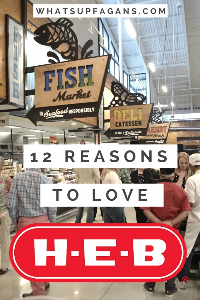 These Really Are Great Reasons To LOVE HEB Grocery Stores