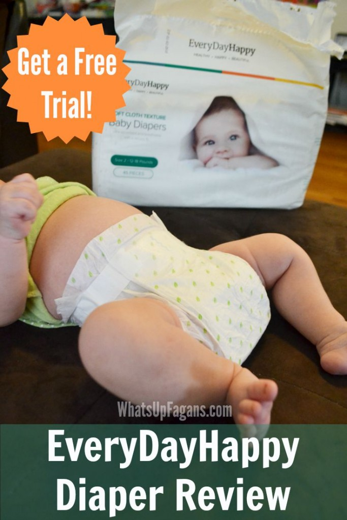 EveryDayHappy Diaper review - Love the honesty. Good to know I can try them too.