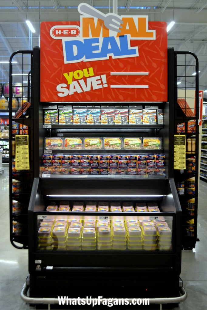 The HEB Meal Deals are the BEST way to save a lot of money on food while grocery shopping.