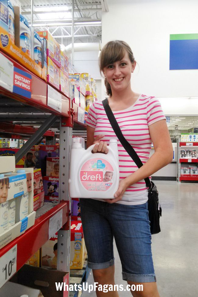 September is Baby Month at Sam's Club so it's an awesome time to stock up on baby essentials like Dreft!