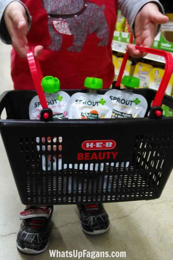 Sprout Organic Baby Food at HEB