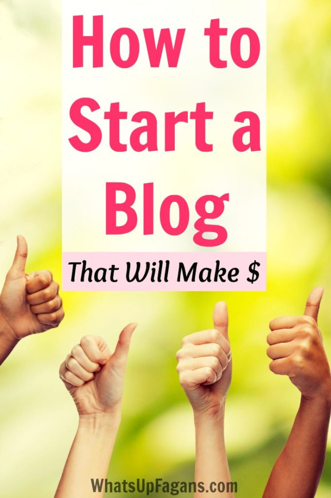 A great tutorial on how to start a blog! Plus it includes great tips to set up a blog right so that it will hopefully make money!