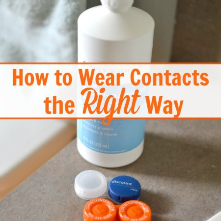 Great information on how to clean contacts properly! Plus the post has great tips on where to buy cheap contact lenses too. Pinning!