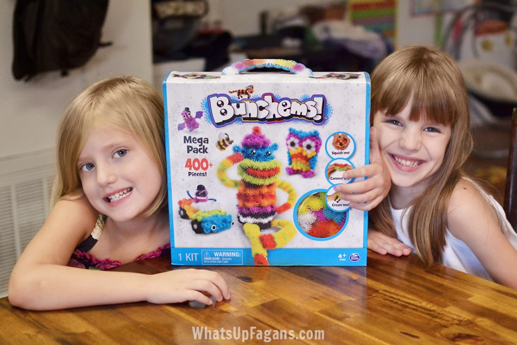 A great creative play toy for kids - Bunchems!