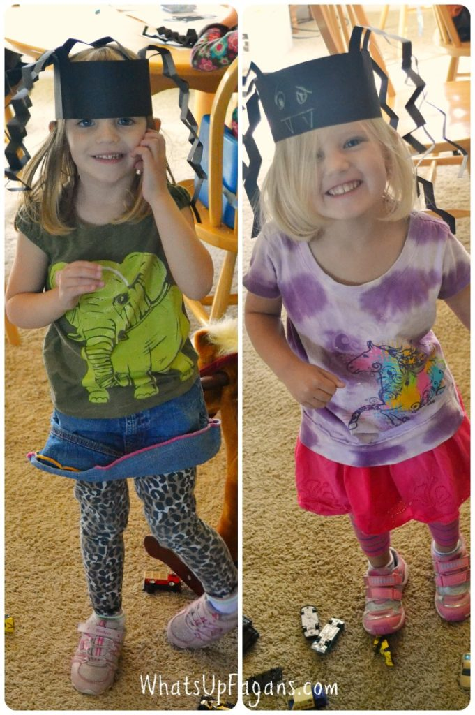 Kids Clashing Outfits