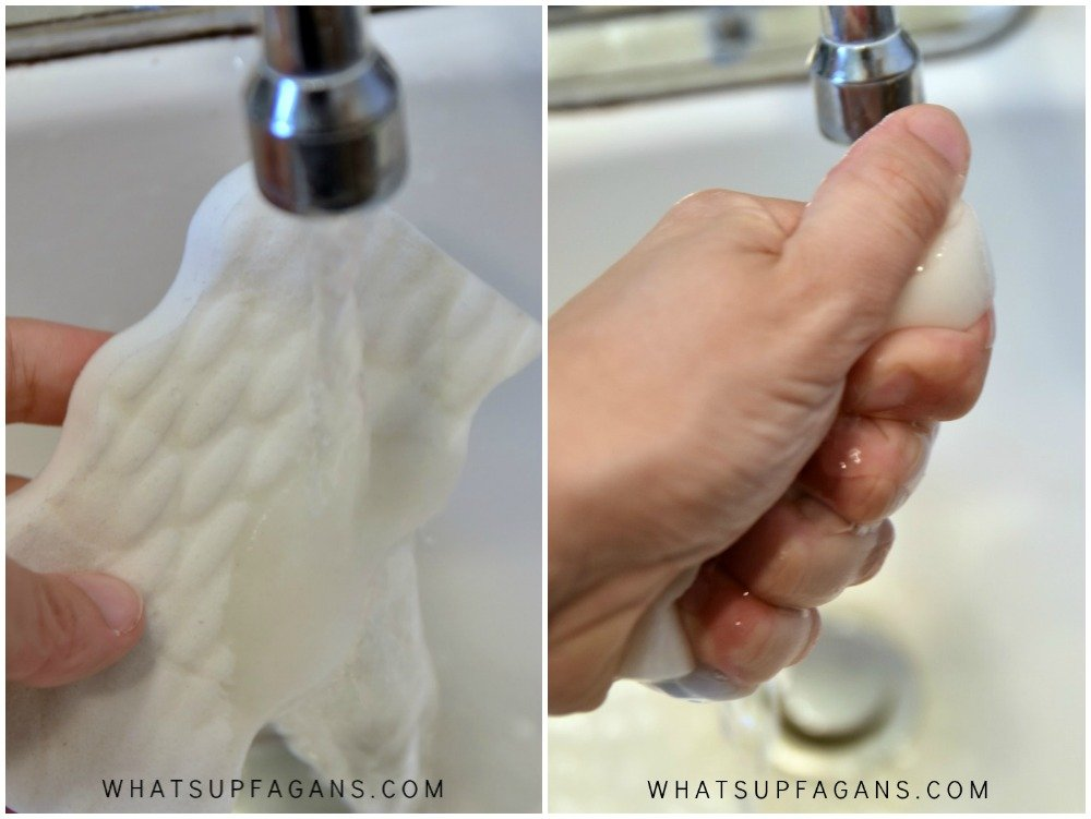 Wet Wring Clean with Magic Erasers